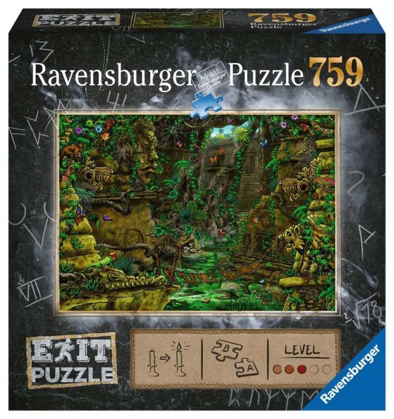 Ravensburger Puzzle - EXIT Tempel in Angkor Wat - 759 Teile Spielzeug