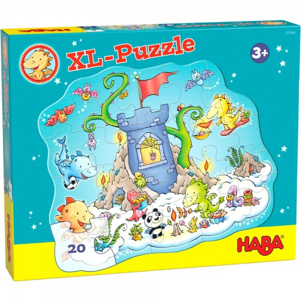 Haba Puzzle Drache Funkelfeuer - Puzzle Party Spielzeug