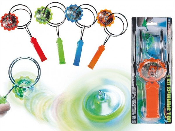 Out of the Blue Magnet Kreisel mit farbwechselnder LED 21cm Spielzeug