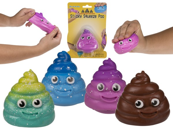 Out of the Blue Klebender Squeeze - Poo Spielzeug