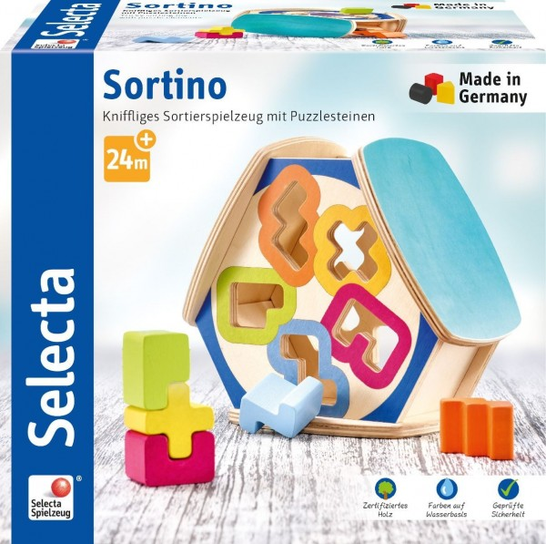 Selecta Sortino, Sortierbox Spielzeug