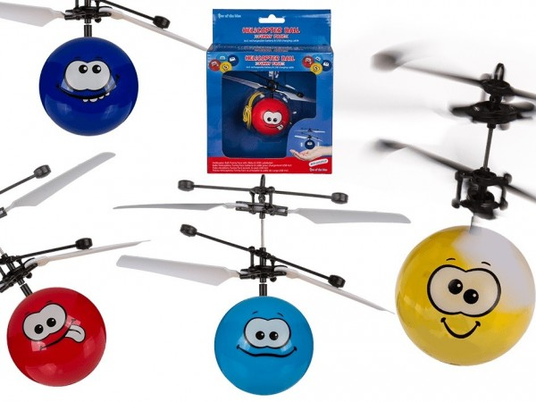Out of the Blue Helikopter-Ball Funny Face Spielzeug