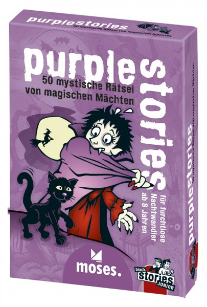 Moses purple stories - black stories Junior Spielzeug
