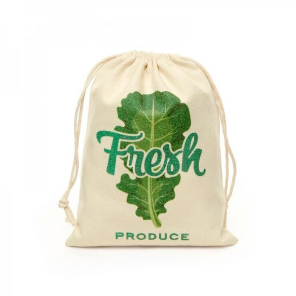 KIKKERLAND Cotton Mesh Produce Bags S/5 Spielzeug